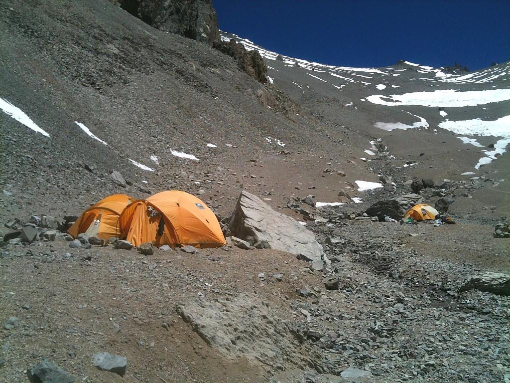 Aconcagua - Glacier des Polonais - Les matins du monde