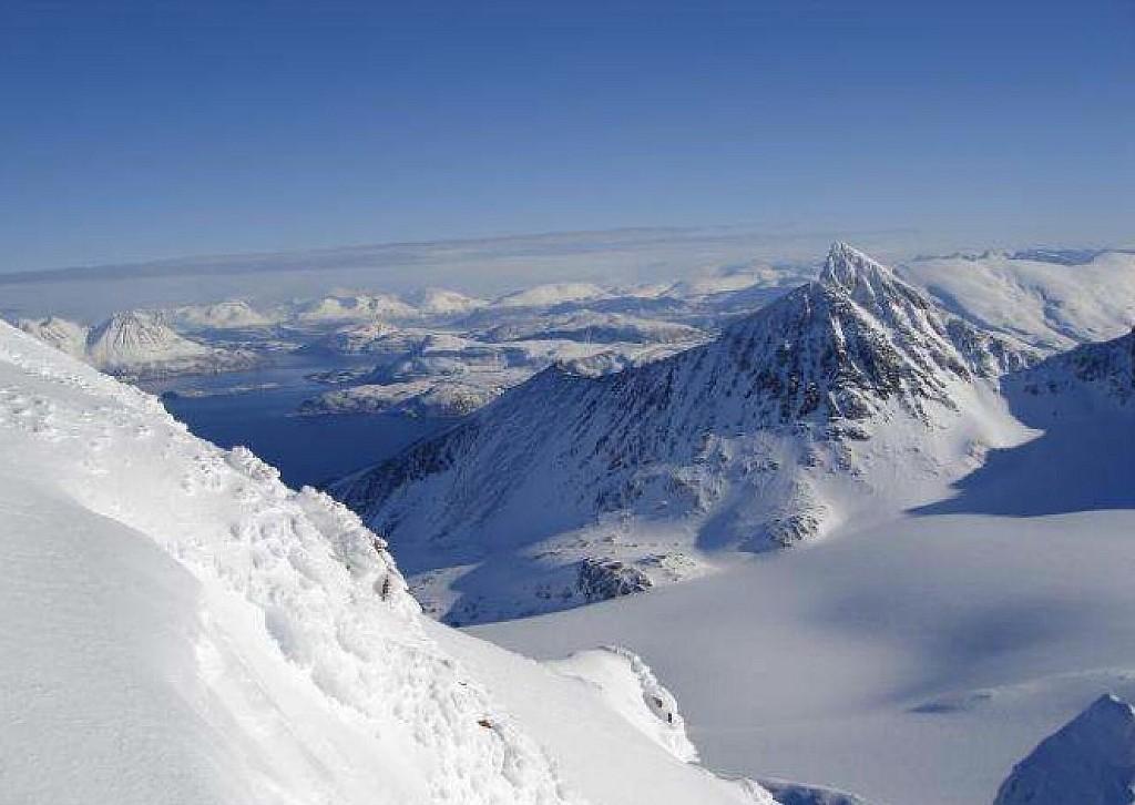 Norvège - Ski de randonnée dans les Alpes de Lyngen - Les matins du monde