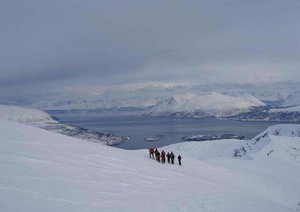 Norvège - Ski de randonnée dans les Alpes de Lyngen