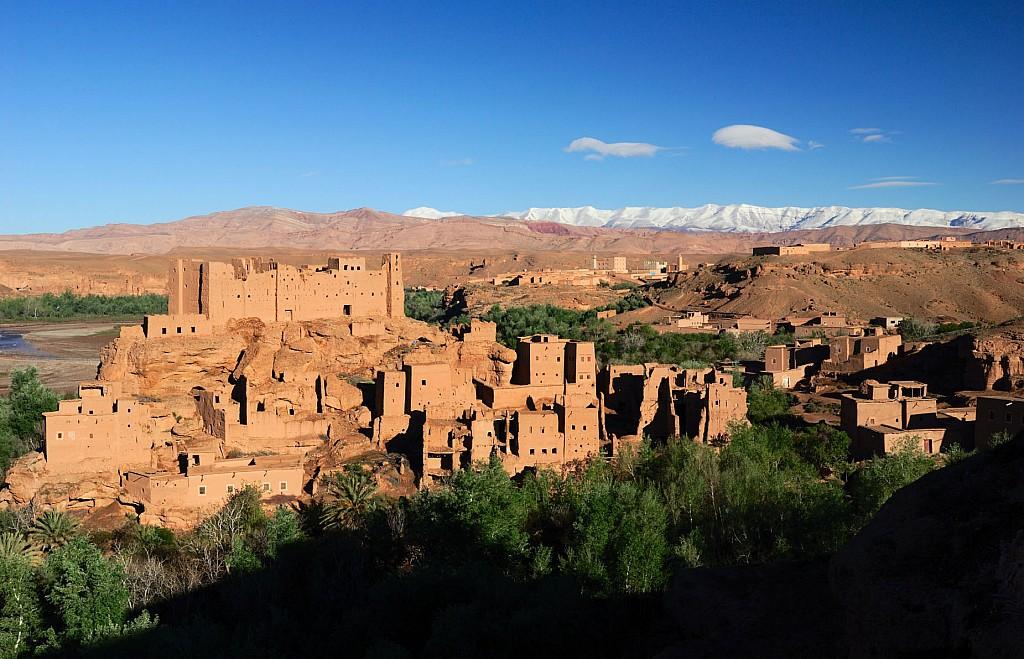 Maroc - Vallée des Roses
