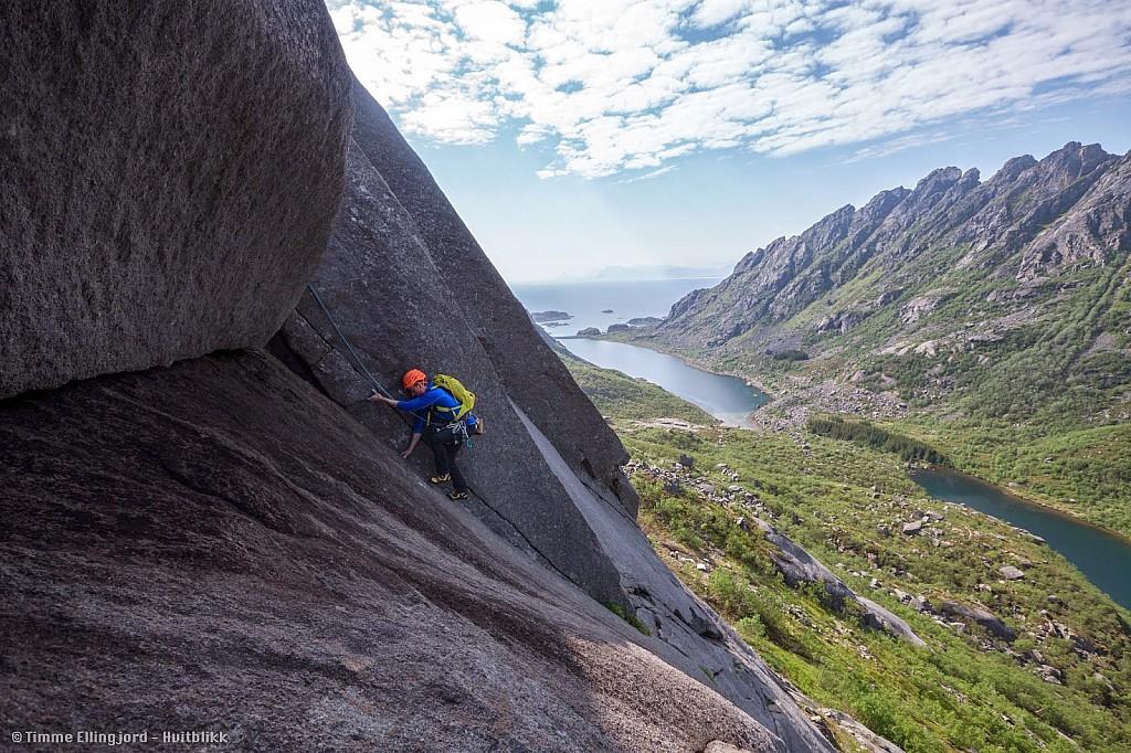 Norvège - Escalade aux îles Lofoten