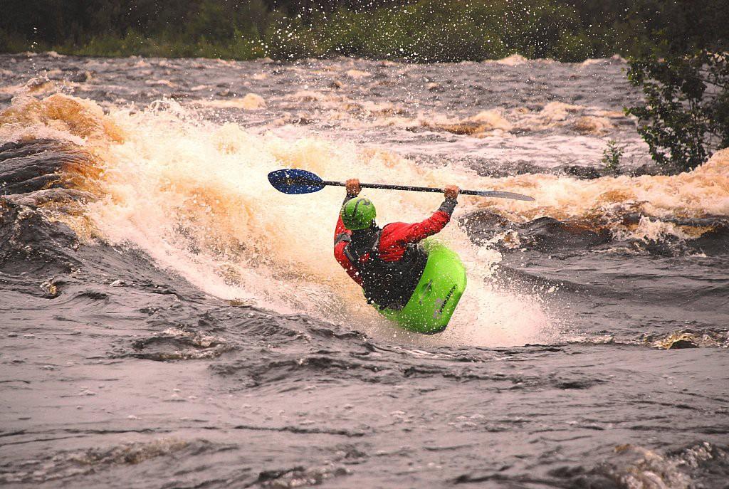 Zambie - Kayak sur les rapides du Zambèze