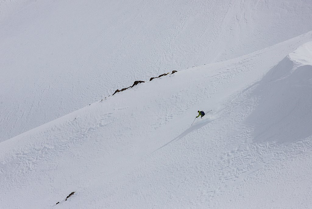 Maroc - Ski de randonnée dans le Massif du M'Goun