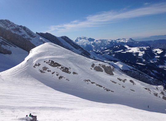 France - Ski de rando dans les Aravis, en étoile