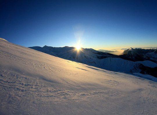 Kosovo - Ski dans les montagnes de Sharr, entre Kosovo, Macédoine et Albanie