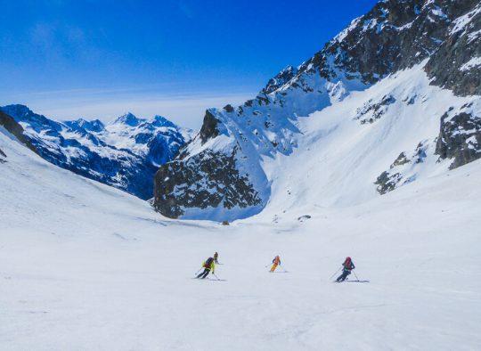 France - Ski de randonnée Haute Route du Mercantour