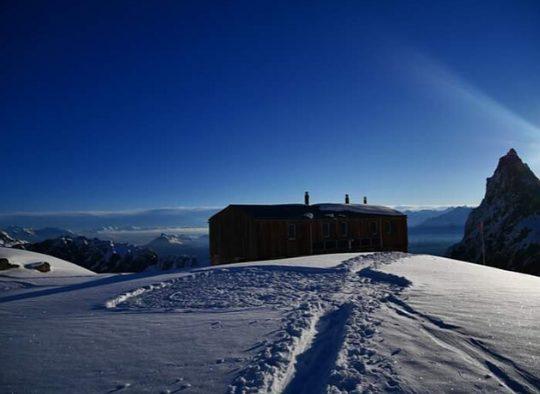 France - Tour des Aiguilles Dorées en ski de rando