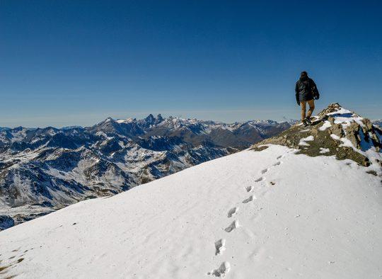 France - Alpinisme estival au Mont Blanc