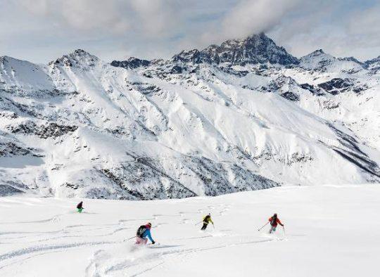 France - Ubaye ski de rando : hors-pistes et mini randonnées