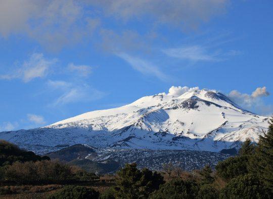 Italie - Etna - Ski, lave, mer, éruption et émotion