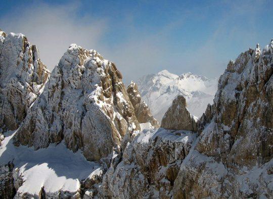 Italie - Traversée des Abruzzes - approche en train