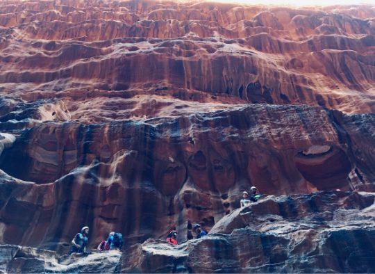 Jordanie - Randonnées aériennes (route bédouine) et canyons au Wadi Rum