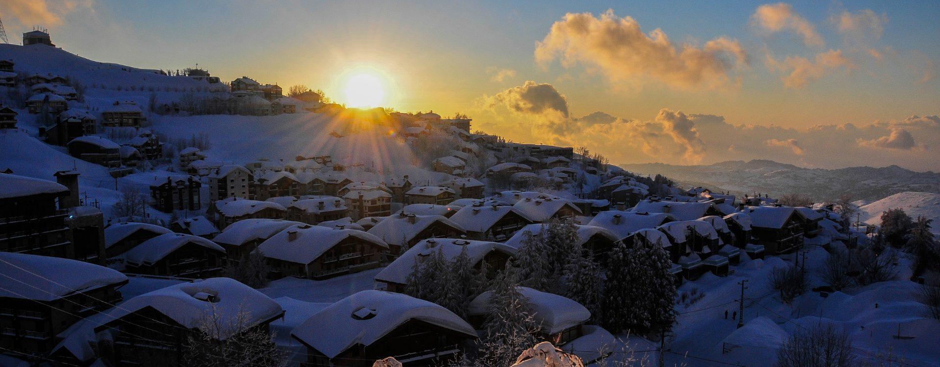 Liban - Raid à ski - Exploration dans les montagnes du Liban - Les matins du monde