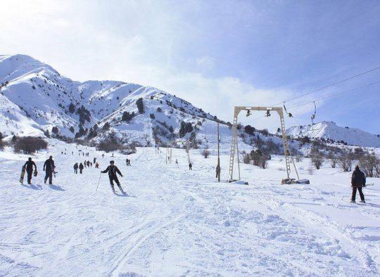 Ouzbékistan - Ski de randonnée dans le massif de Chimgan