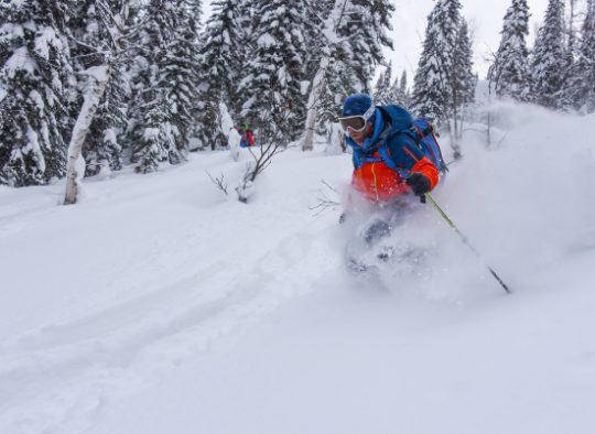 Russie - Exploration à ski dans les montagnes de Sibérie