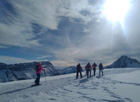 Découverte du Val d'Anniviers en raquettes - Les matins du monde