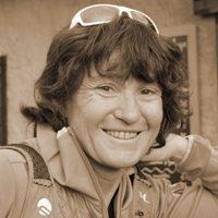 Valérie Aumage - Ski voile au pays des glaces et des Ours