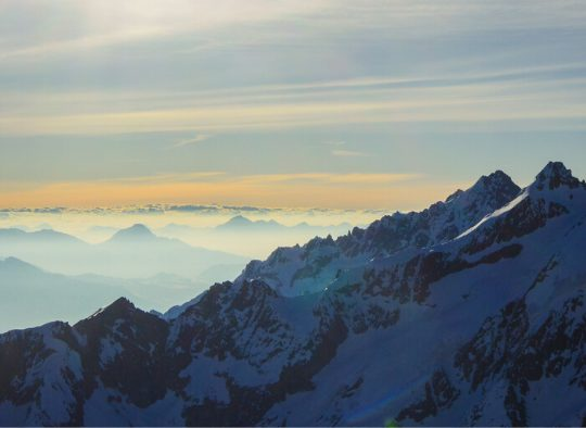 France - La Meije – Raid à ski d'exception - Les matins du monde