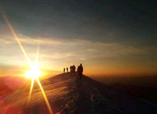 Alpinisme estival au Mont Blanc - Les matins du monde