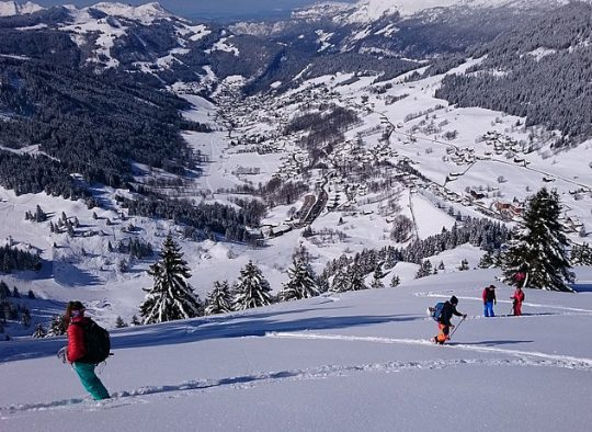 France - Splitboard Camp Aravis 1 - Apprendre l'autonomie