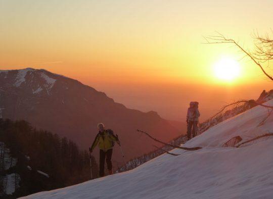 France - Découverte du Massif du Queyras, raid à ski