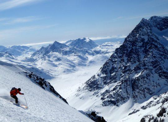 Ski de randonnée - Région de Nuuk - Les matins du monde