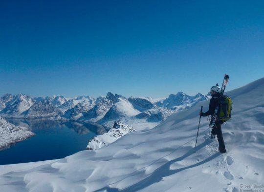 Ski voile – Exploration sur les îles et les fjords autour de Nuuk - Les matins du monde