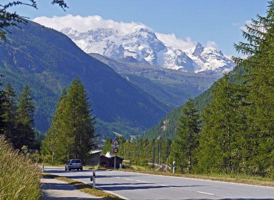 Valpelline et Mont Rose - Les matins du monde