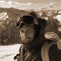 Jérome Huet - Ski de randonnée au départ d'un bateau
