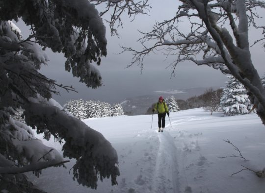 Japon - Ski de randonnée et ascension du Fujiyama