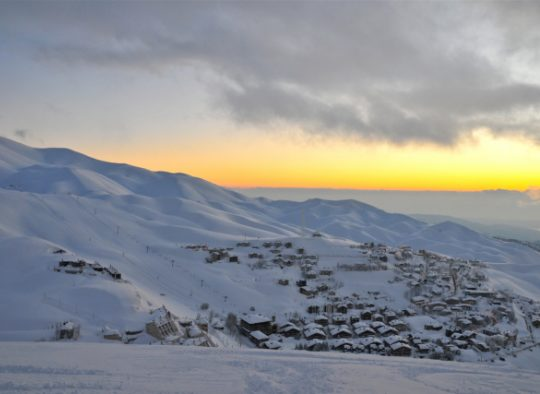Raid à ski - Exploration dans les montagnes du Liban - Les matins du monde
