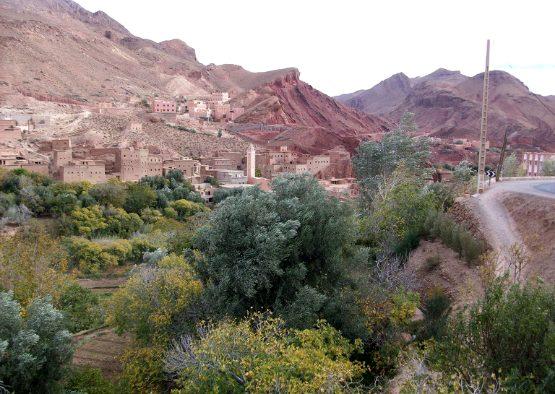 Maroc - Massif du M'Goun, Haut Atlas Central - Les matins du monde