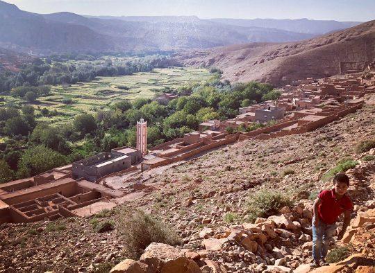 Maroc - Trek  dans la vallée des Roses - Les matins du monde