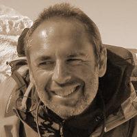Michel Clar - Découverte hivernale du Lac Baïkal - Bleu-Blanc-Noir