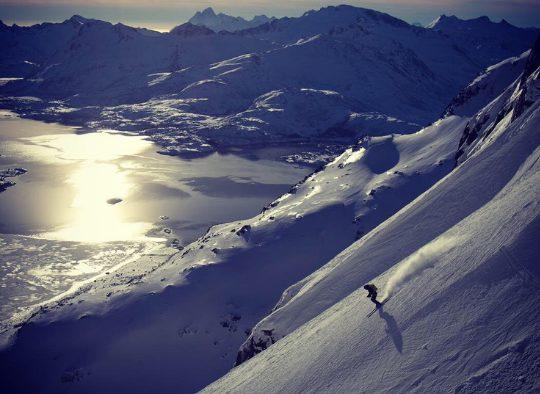 Norvège - Ski dans les îles Lofoten