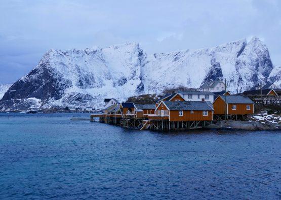Norvège - Ski de randonnée dans les îles Lofoten - Les matins du monde