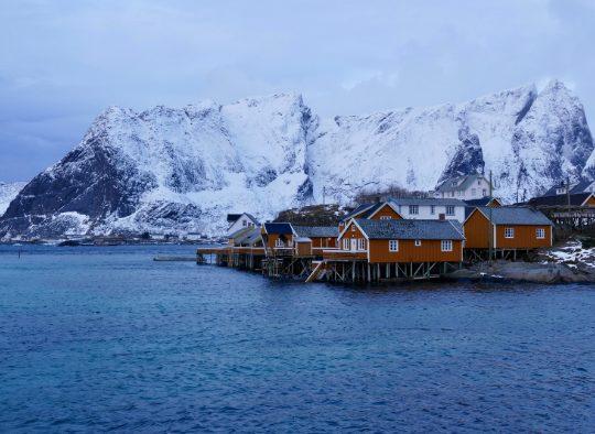 Norvège - Ski de randonnée dans les îles Lofoten
