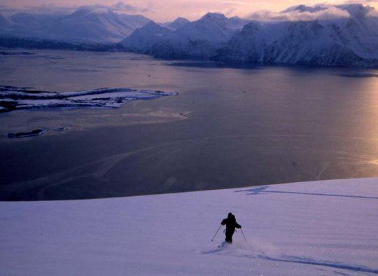 Traversée des Alpes de Lyngen - Les matins du monde