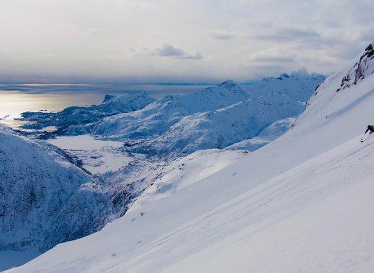 Norvège - Alpes de Lyngen - Les matins du monde