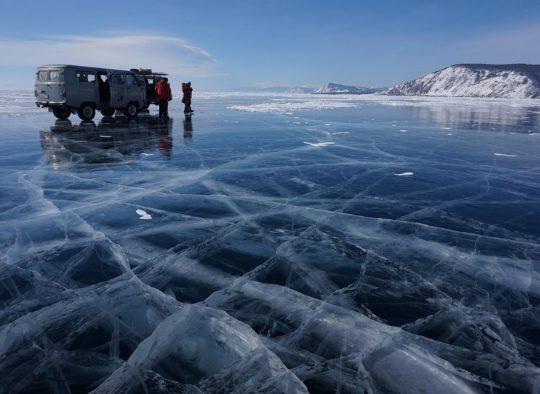Russie - Découverte hivernale du Lac Baïkal - Bleu-Blanc-Noir