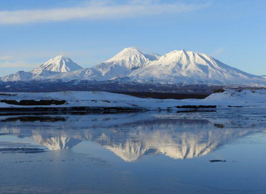 Kamchatka Hivernal - Raid à ski et pulka - Les matins du monde