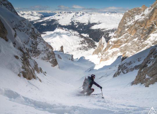 Italie - Pale di San Martino : freerando et ski de randonnée