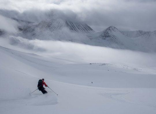 Suède - Ski de randonnée dans les montagnes suédoises