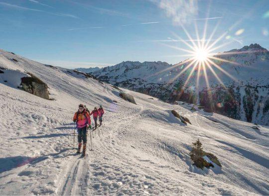 Suisse - Mêler ski et alpinisme dans le massif de la Bernina