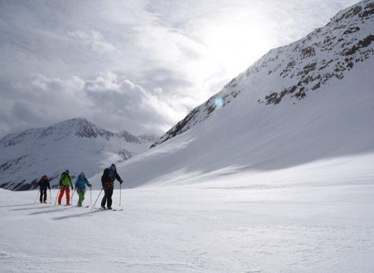 Autriche - Raid à ski dans le Massif de l'Otztal