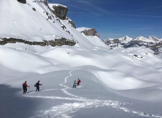 Suisse - Le Simplon - Grands Cols et Hospices des Alpes en Raquettes